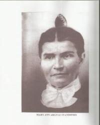 Mary Ann Argyle Standifird