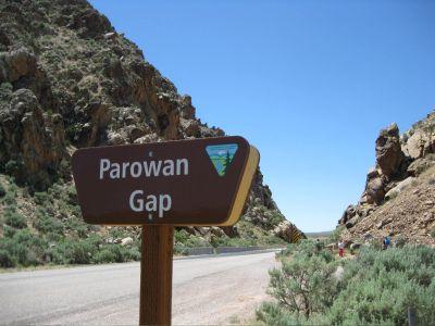 Parowan Gap to Parowan