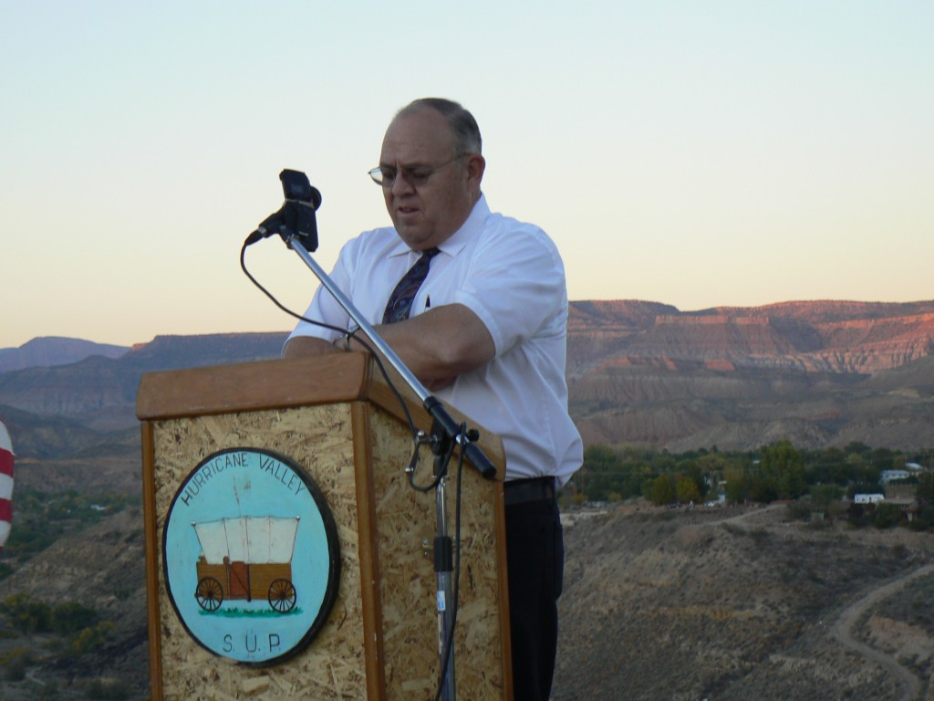 Jim Lemmon & Dedicatory Prayer